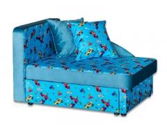 Детский диван Умка эконом Rally blue-Hit 21 бирюзовый