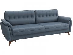 Диван-кровать Дорис арт. ТД-164 серо-синий