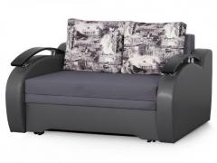Диван-кровать Френд-2 Вариант 1 Серый