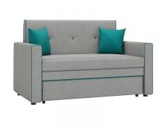 Диван-кровать Найс арт. ТД-112 серебристый серый