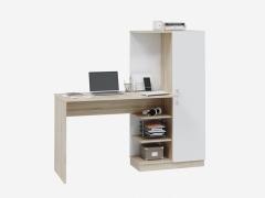 Компьютерный стол Софт дуб сонома-белый
