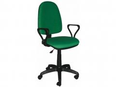 Кресло офисное Prestige Lux gtpPN S34 ткань зеленая