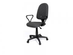 Кресло офисное Престиж Люкс gtpPN S38 ткань серая