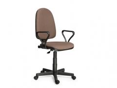 Кресло офисное Престиж Люкс gtpPN S39 ткань бежевая