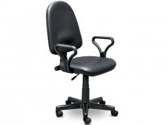Кресло офисное Престиж Люкс gtpPN Z11 кожзам черный