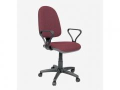 Кресло офисное Престиж Самба 2-А бордовый