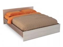 Кровать 1400 Бася КР-557 шимо темный-шимо светлый