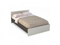 Кровать 1400 Бася КР-557 венге-белфорт
