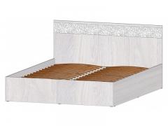 Кровать 1600 с ПМ Фиеста анкор светлый