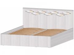 Кровать 1600 с подъёмный механизмом Диана анкор светлый