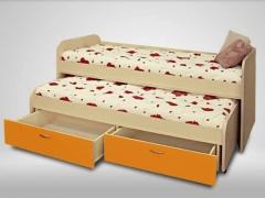 Кровать 2-х ярусная выкатная Антошка манго