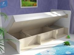 Кровать 900 с подъемным механизмом Палермо-Юниор
