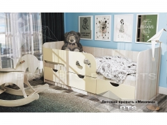 Кровать детская Минима Лего Крем