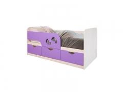 Кровать детская Минима Лего Лиловый сад