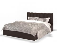 Кровать Элен коричневая