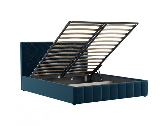 Кровать Милана Полуночно-синий