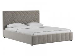 Кровать Милана Светлый кварцевый серый