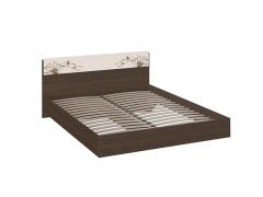 Кровать Мишель Венге Цаво-Дуб Белфорт с рисунком