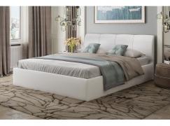 Кровать РИВЬЕРА белая 1600