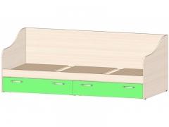 Кровать с ящиками Буратино Зеленый