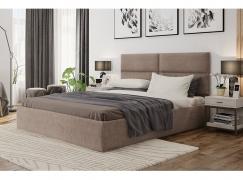Кровать СИТИ бежевая 1600 с подъемным механизмом