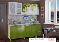 Кухня 2,0м Люкс фотопечать - Лоза