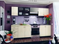 Кухня Татьяна 2,0 ЛДСП Венге-Дуб Беленый