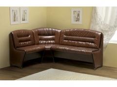 Кухонный диван В-6 венге-темно-коричневый