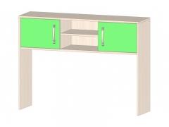 Надстройка для стола Буратино зеленый ШхВхГ 1150х850х300 мм