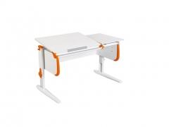 Парта СУТ-25 White оранжевая