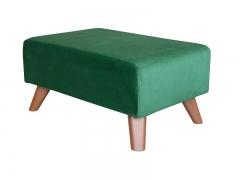 Пуф Эрика арт. ТП-227 темно-зеленый малахитовый