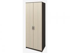 Шкаф 2-х створчатый Ронда ШКР800.1 Венге-Дуб белфорт