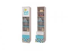 Шкаф для книг с ящиками и дверками Джимми