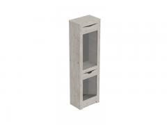 Шкаф-витрина 1 дверный Соренто Дуб бонифаций