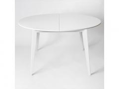 Стол обеденный Персей 1300 Белая эмаль