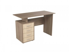Стол письменный с 4 ящиками Эко