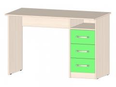 Стол с ящиками Буратино Зеленый