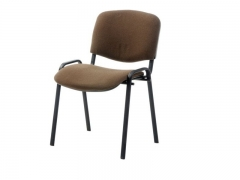 Стул офисный Изо black S24 ткань коричнево-бежевая