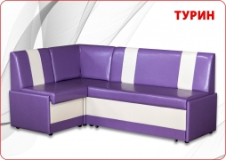 Турин угловой Кожзам Рикс purple