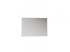 Зеркало навесное Лайт 03.240 Белый премиум ШхВхГ 780х540х23 мм